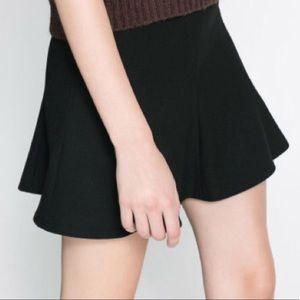 ZARA || NWT knit fit and flare skater skirt med